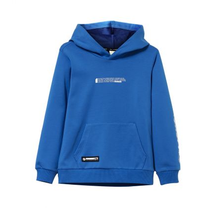 Bad5 Boy PO Knit Hoodie, Crystal Blue