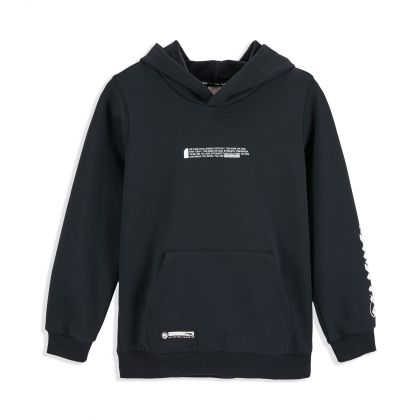 Bad5 Boy PO Knit Hoodie, Standard Black