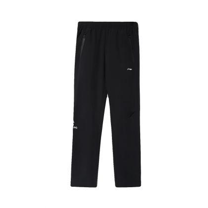 Running Boy Track Pants, Standard Black