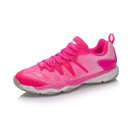 Female Badminton Professional Shoes Pink Ranger