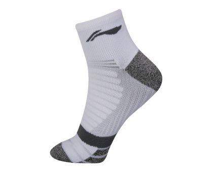 Socks-half Loop, White/Light Gray