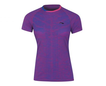 Female Competition Top, Purple Blue