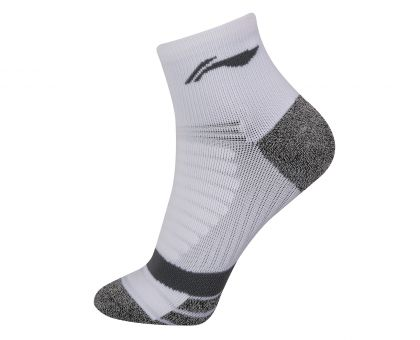 Socks-Full Terry, White/Grey