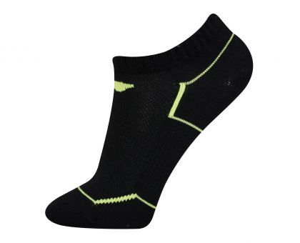 Socks-Half Loop, Black/Green