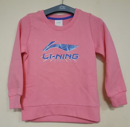 Training Girl PO Knit Top, Morning Pink
